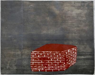 Vittorio Messina, 'A cottage at night / Casetta di notte', 2000