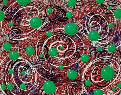 Kenny Scharf, 'Space Balls', 1989