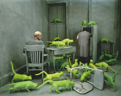 Sandy Skoglund, 'Radioactive Cats', 1980