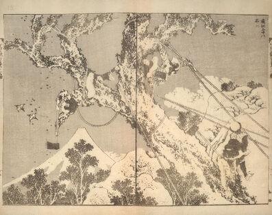 Katsushika Hokusai, 'Fuji in Totomi Mountains (Totomi sanchu no Fuji)', ca. 1835-1850