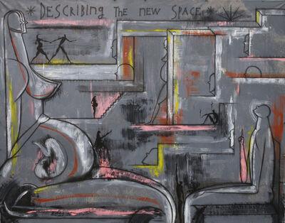 José Bedia, 'Describing the new space', 2013
