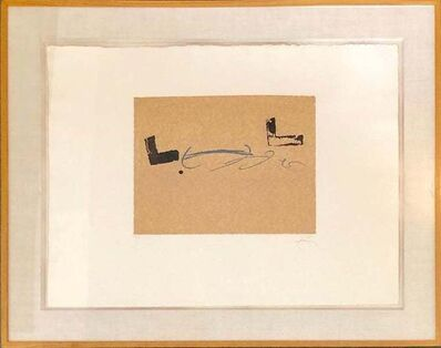 Antoni Tàpies, 'Untilted', 20th Century