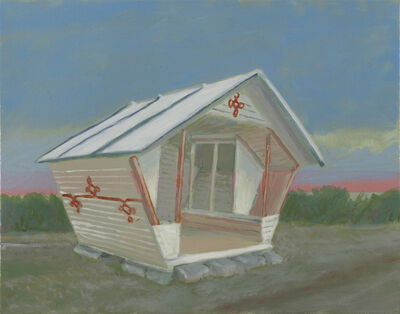 Greg Drasler, 'Bus Stop/Check Point 2', 2020