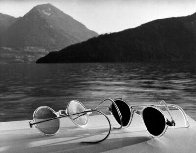 Herbert List, 'Sunglasses, Lake Lucerne, Switzerland, 1936', 1936