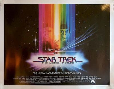 Film Poster, 'Star Trek Poster', 1979