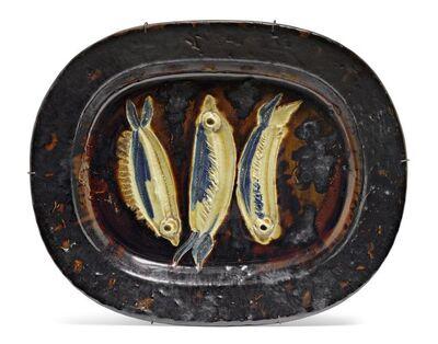 Pablo Picasso, 'Trois sardines', 1948