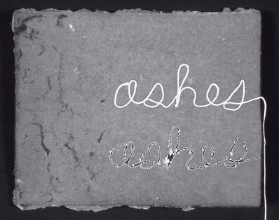 Buzz Spector, 'Ashes, Ashes', 2003
