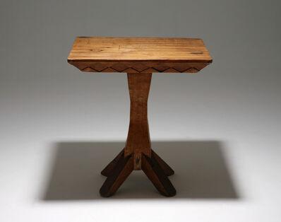 José Zanine Caldas, 'Hand carved table', 1970