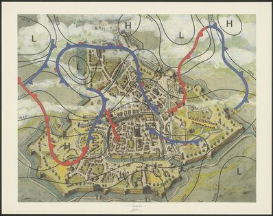 Marinus Boezem, 'Cartografia, 1572-1997', 1997