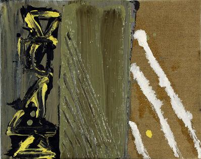Basil Beattie RA, 'Tri Divide', 1994