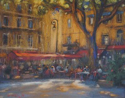 John Mackie, 'Café Scene'