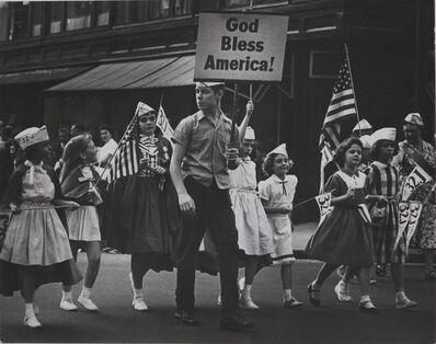 Ed van der Elsken, 'Labour Day parade, New York', 1961