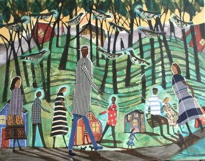 Donald Saaf, 'Hillside Shadows', 2015
