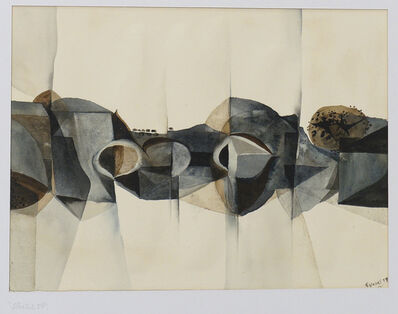 Alan Reynolds, 'Structure 59', 1959