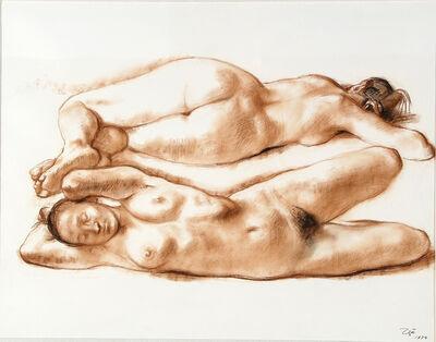 Francisco Zúñiga, 'TWO RECLINING NUDES', 1974