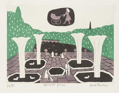 Julian Trevelyan, 'Kensington Gardens', 1969