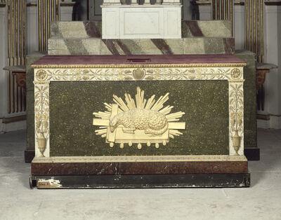 'Autel ayant servi à Pie VII (Altar used for Pius VII)', 1810