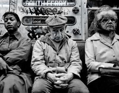 Nick Levitin, 'MTA Subway', 1970