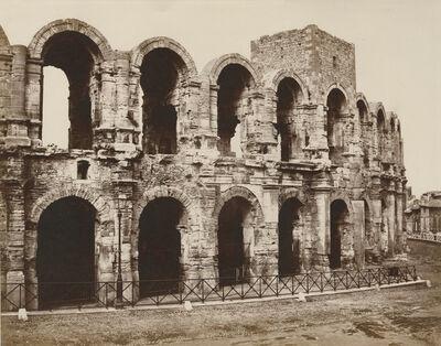 Édouard Baldus, 'Amphitheater at Arles', 1859-1860