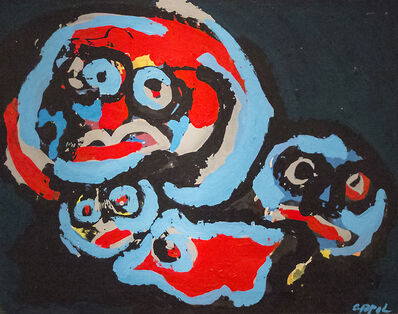 Karel Appel, 'Figure Composition'