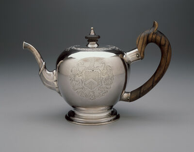 Jacob Hurd, 'Teapot', 1730-1735