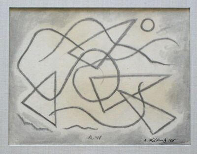Abraham Walkowitz, 'Abstract Design', 1915