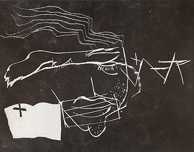 Antoni Tàpies, 'Le lecteur (Der Leser)', 1990