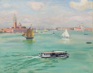 Albert Marquet, 'Venise, le vaporetto', 1936