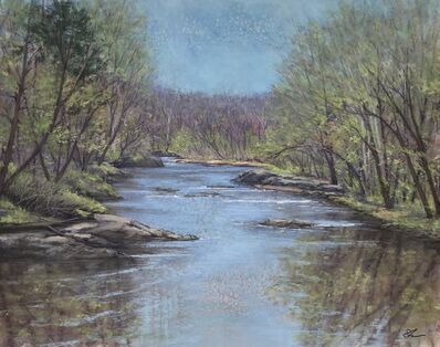 Patricia Skinner, 'Spring on the Rappahannock', 2020