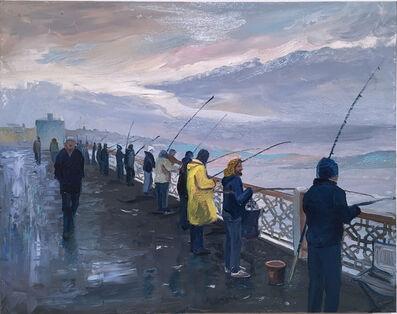 Thomas John Carlson, 'Istanbul Bridge', 2014