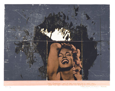 Michael Rothenstein, 'She's American', 1977