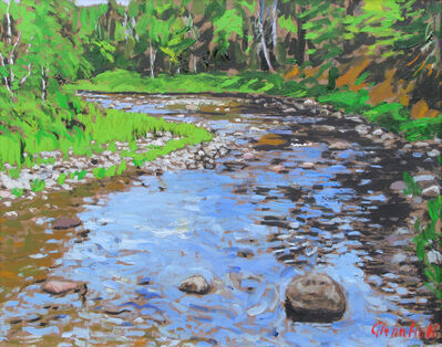 Glenn Hall, 'McGraw's Brook, Miramichi', 2018