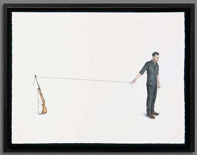 Hugo Lugo, 'Dibujos sobre lo invisible II', 2014