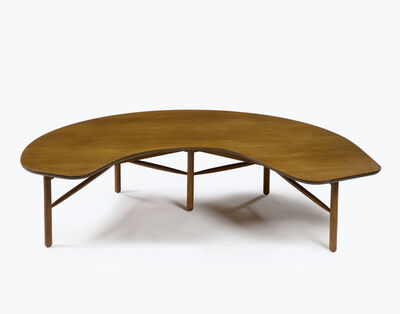 "Greta Magnusson Grossman, 'Freeform ""Half Moon"" cocktail table', 1954"