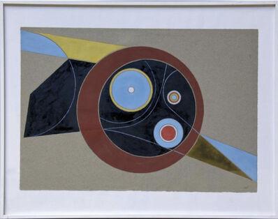 Nicolas Schoffer, 'Gouache géométrique AP21.7', 1948