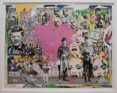 Mr. Brainwash, 'Juxtapose', 2012