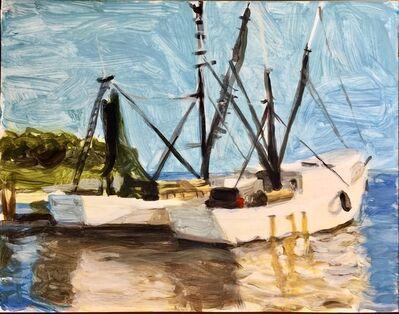 Evan Jones, 'Shrimp Boats, Shem Creek, South Carolina', 2018