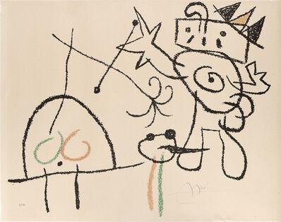 Joan Miró, 'Ubu aux Baleares'