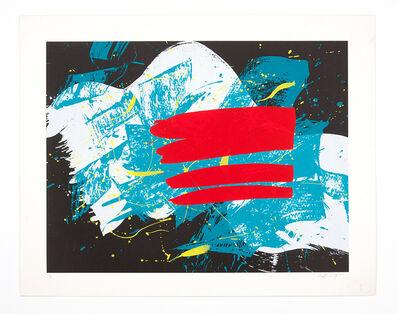 Kazuo Shiraga, 'Akaihata ', 1993