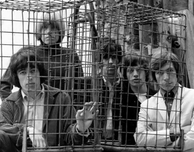 Gered Mankowitz, 'The Rolling Stones Caged, Ormond Yard, London', 1965