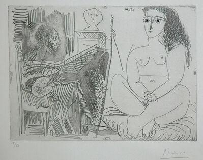 Pablo Picasso, 'Peintre et Modèle', 1964