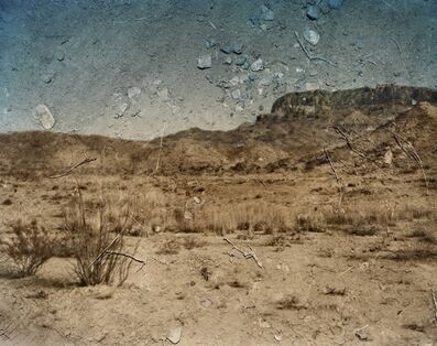 Abelardo Morell, 'View Looking Southeast Toward The Chisos Mountains. Big Bend National Park, Texas', 2010