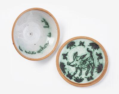 Mirka Mora, '(Le petit cochon de lait — lidded paté dish)', 1970