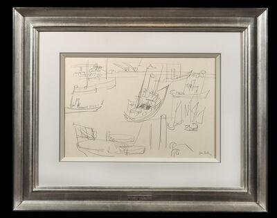 Jean Dufy, 'Bateaux au port', 1924