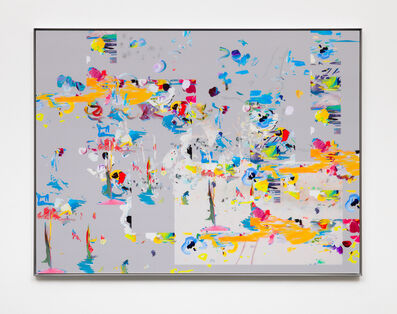 "Petra Cortright, '56K ""absolu"" YMARK200 ""wild animals""_veronica', 2020"