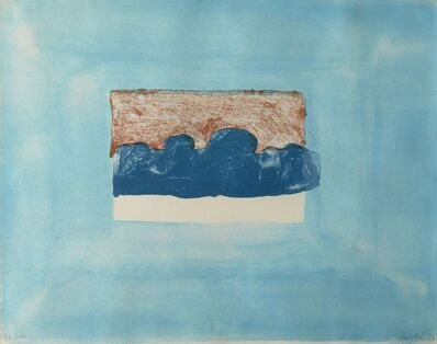 Howard Hodgkin, 'After Luke Howard', 1976