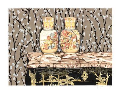 P.S. Gordon, 'Satsuma Vases', 1992