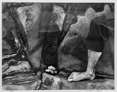 Minor White, 'Feet, Don Normak ', 1950