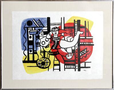 Fernand Léger, 'Circus Couple'