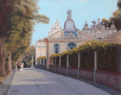 "Terry Guyer, '""Borghese Gardens Aviary""', 2016"